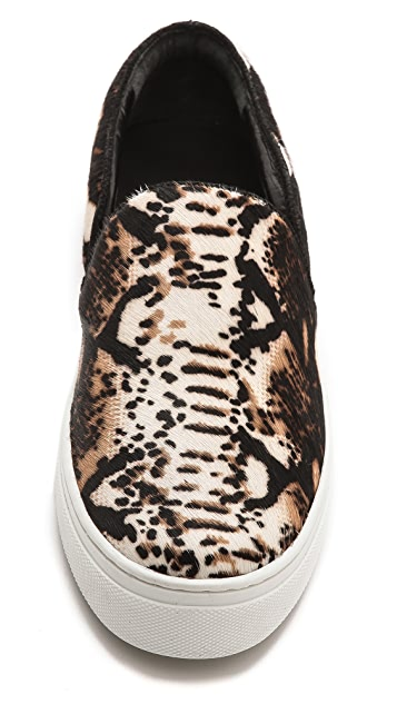 Schutz Amisha Haircalf Slip On Sneakers