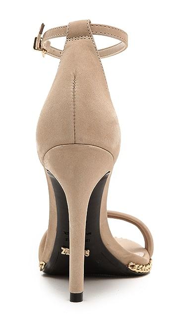 Schutz Panteria Nubuck Sandals