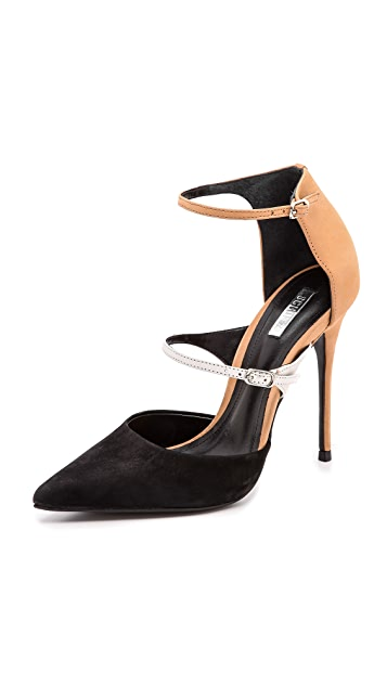 Schutz Quirada Two Strap Pumps