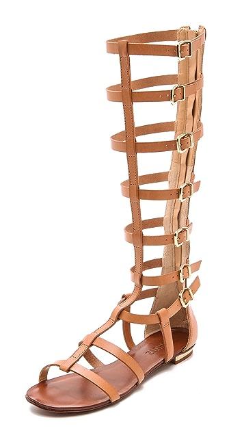91921872070 Schutz Cyby Flat Gladiator Sandals ...