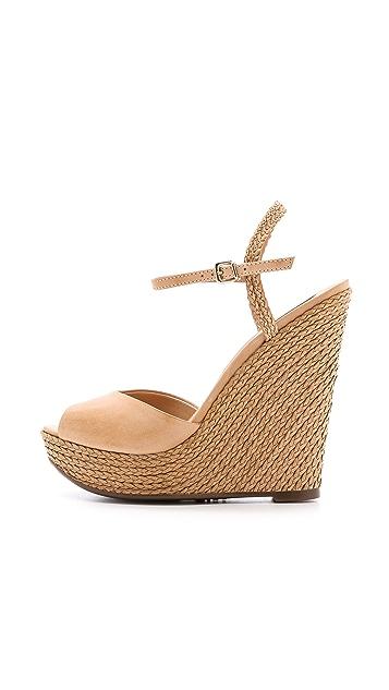Schutz Antonella Platform Wedge Sandals