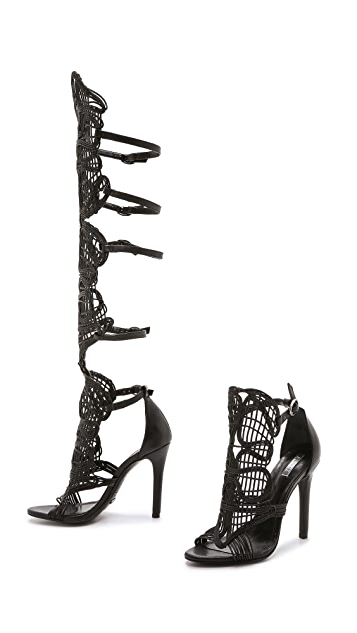 Schutz Duna Detachable Gladiator Sandals