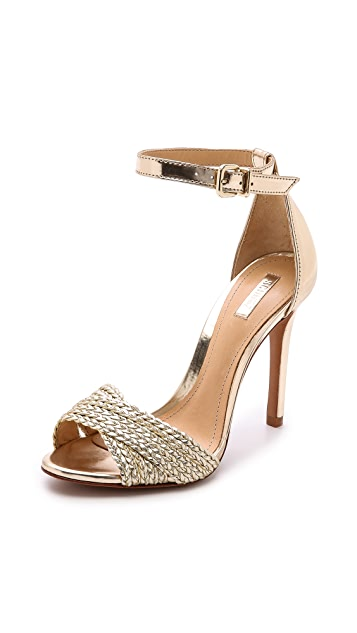 Schutz Drauzia Woven Sandals