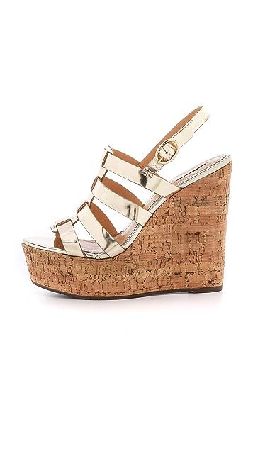 Schutz Egenia Wedge Sandals