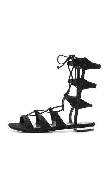 Schutz Erlina Suede Sandals
