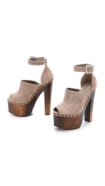 Schutz Tyrone Platform Clog Sandals