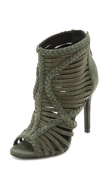 Schutz Yoko Suede Sandals