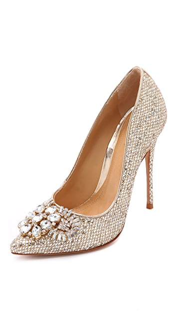 Schutz Eliss Embellished Pumps