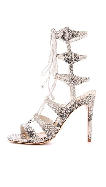 Schutz Erlene Lace Up Sandals