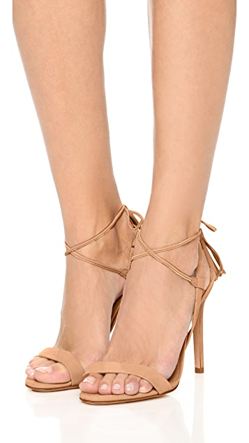 Schutz Maggie Tassel Sandals