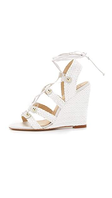 Schutz Jayne Wedge Sandals