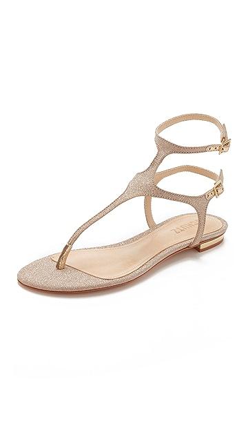 Schutz Galey Flat Sandals