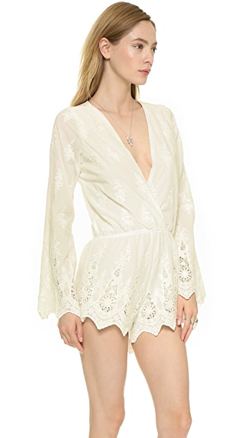 Stone Cold Fox Locals Romper
