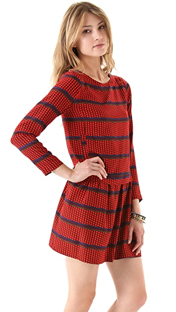 Sea 2 Pocket Long Sleeve Dress