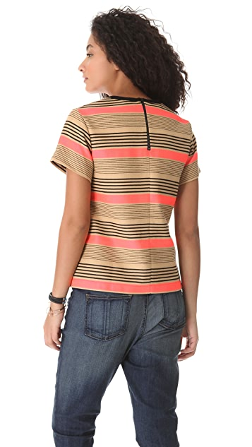 Sea Pocket Stripe Top