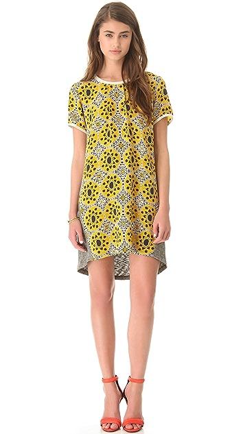 Sea Combo T Shirt Dress