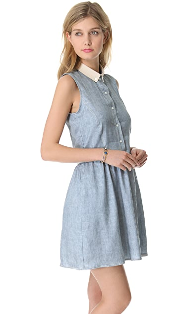 Sea Denim Sleeveless Dress