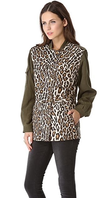 Sea Leopard Combo Military Jacket