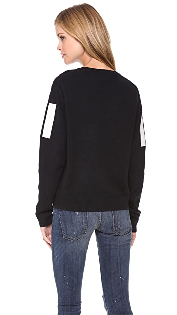 Sea Embroidered 13 Pullover