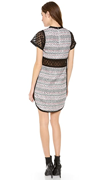 Sea Lace Cutout Dress