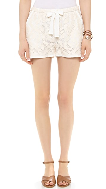 Sea Lace Track Shorts