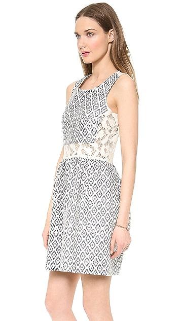 Sea Lace Back Dress