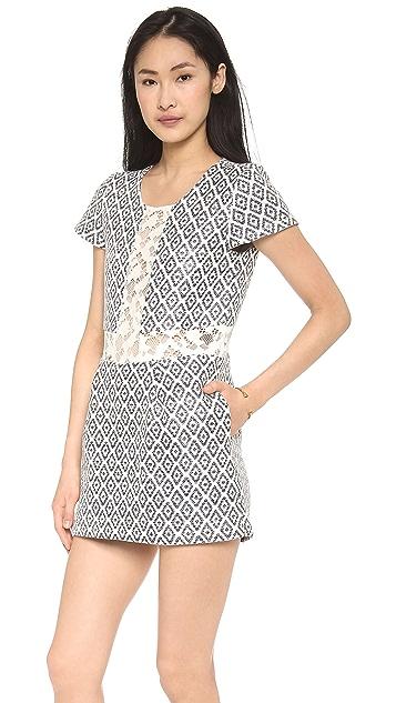 Sea Lace Combo Skort Dress