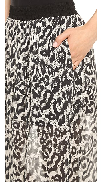 Sea Long Leo Skirt
