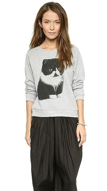 Sea Tomo's Cat Sweatshirt