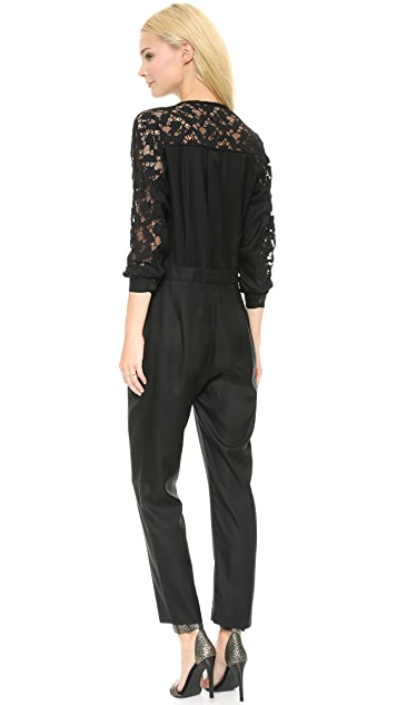 Sea Lace Combo Jumpsuit