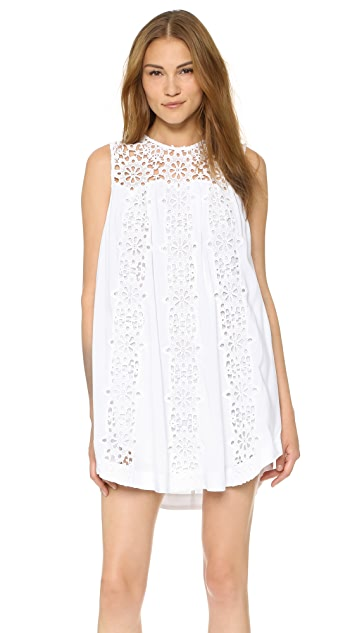 Sea Snowflake Combo Dress