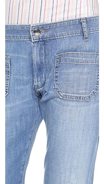 Seafarer Jellyfish Crop Jeans