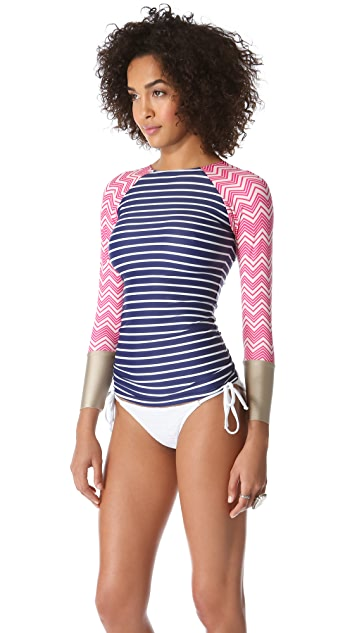 Seea Doheny Rash Guard Top
