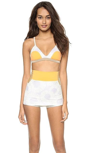 Seea Reversible Leucadia Bikini Top