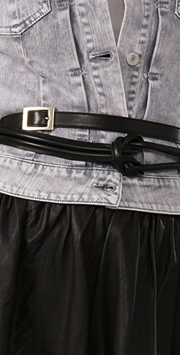 See by Chloe Double Wrap Belt