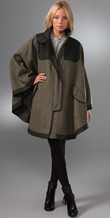 See by Chloe Quilted Cape