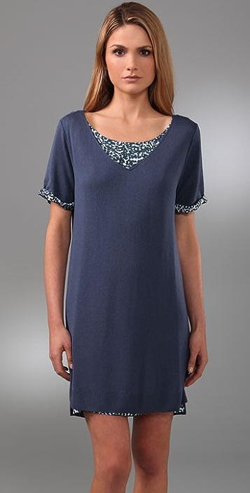 See by Chloe Short Sleeve Layered Dress