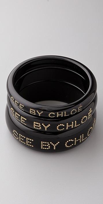 4335486e32925 See by Chloe Resin Bangle Set | SHOPBOP