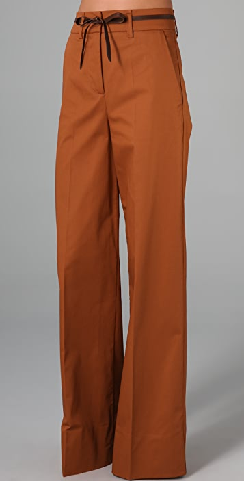 See by Chloe High Waist Flare Trousers