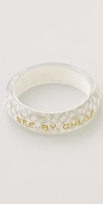 See by Chloe Print Bangle