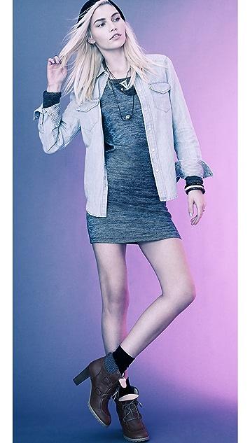 See by Chloe Tapered Sweatshirt Dress