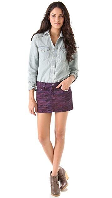 See by Chloe 5 Pocket Miniskirt