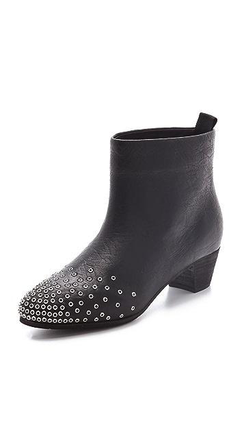 See by Chloe Low Heel Studded Booties