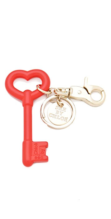 See by Chloe Key Keychain
