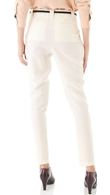 See by Chloe Low Slung Pleated Pants