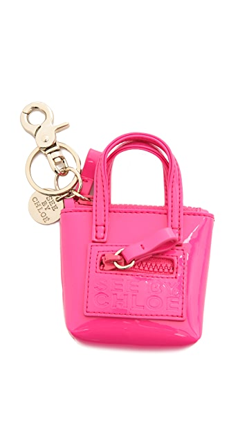 See by Chloe Zip File Key Ring