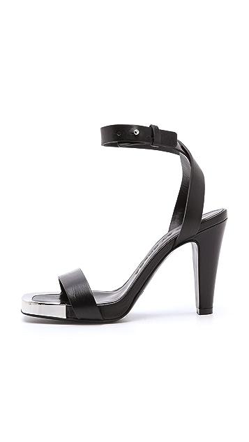See by Chloe Metal Detail Sandals