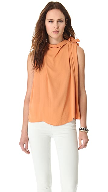 See by Chloe Shoulder Detail Blouse