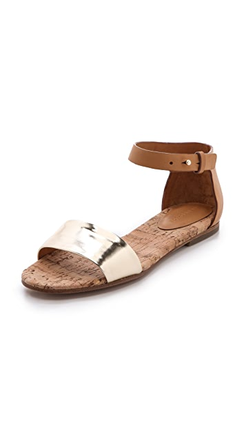 See by Chloe Cork Footbed Sandals