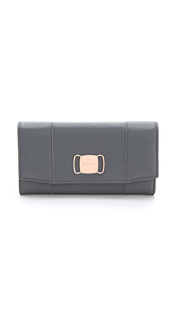 See by Chloe Suzie Long Flap Wallet